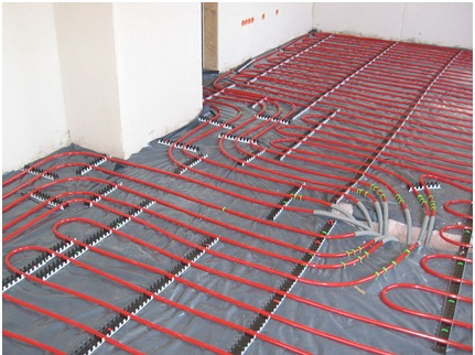 Wet Underfloor Heating or Conventional Radiators