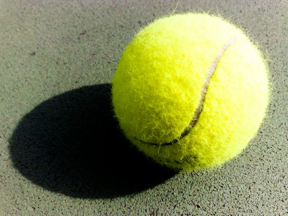 Main effects of the ball in Tennis