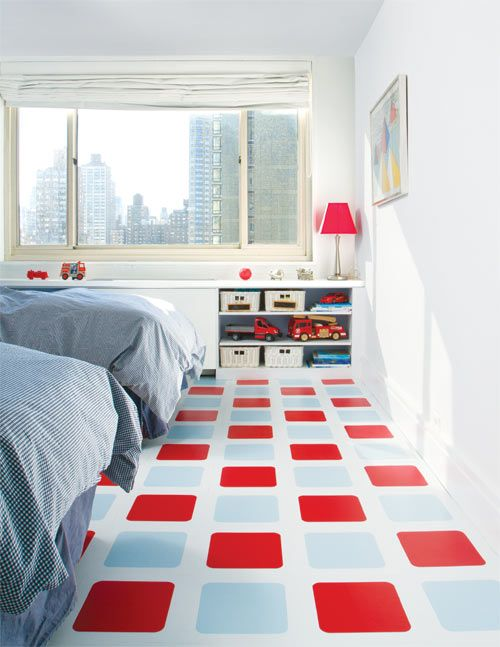 Ideas to decorate the floor with spray