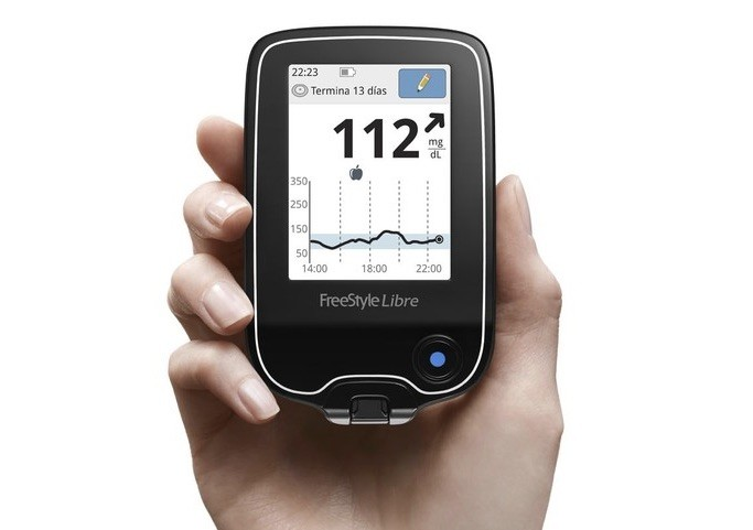 FreeStyle Free, a glucometer for diabetics without punctures