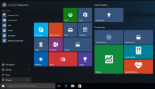 How to make a backup of the elements of your start menu in Windows 10