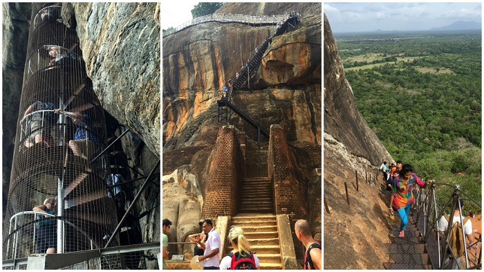 Sigiriya, the Lion's Rock, the treasure of Sri Lanka