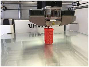 Tensile fabric and 3d printed bioplastic