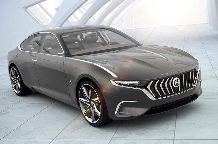 The 800 hp Pininfarina H600 is just what a luxury hybrid sedan should look like
