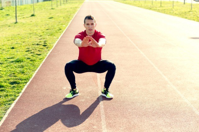 Burpees, a complete exercise to activate the metabolism