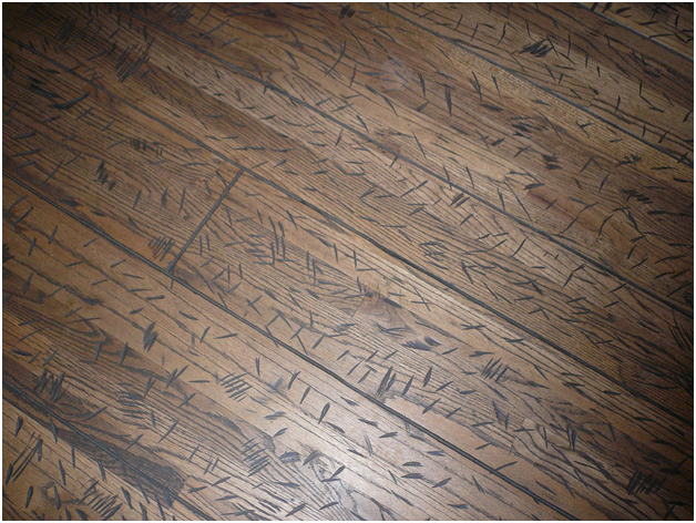 Four ways to fix a scratched floor