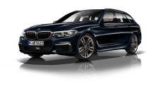 The BMW M550d has the same power as the first M5