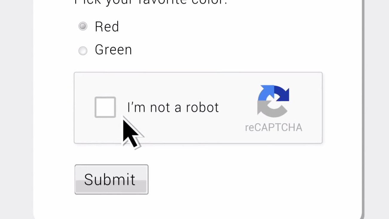 How reCaptcha knows that you are a human and not a robot just by ticking a box